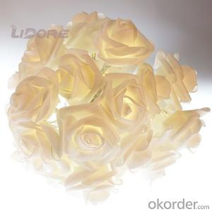 Battery Operate Light, LED Rose String Romatic Led Light String, Wedding Decoration