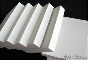 High gloss weather resistance 4x8 pvc board 3mm pvc foam board