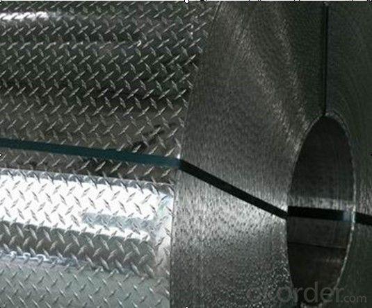 Aluminum embossed coil 1060 1100 3003 5052 aluminum coil