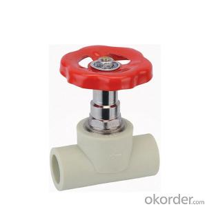 PP-R  Heavy stop  valve with  SPT   Brand