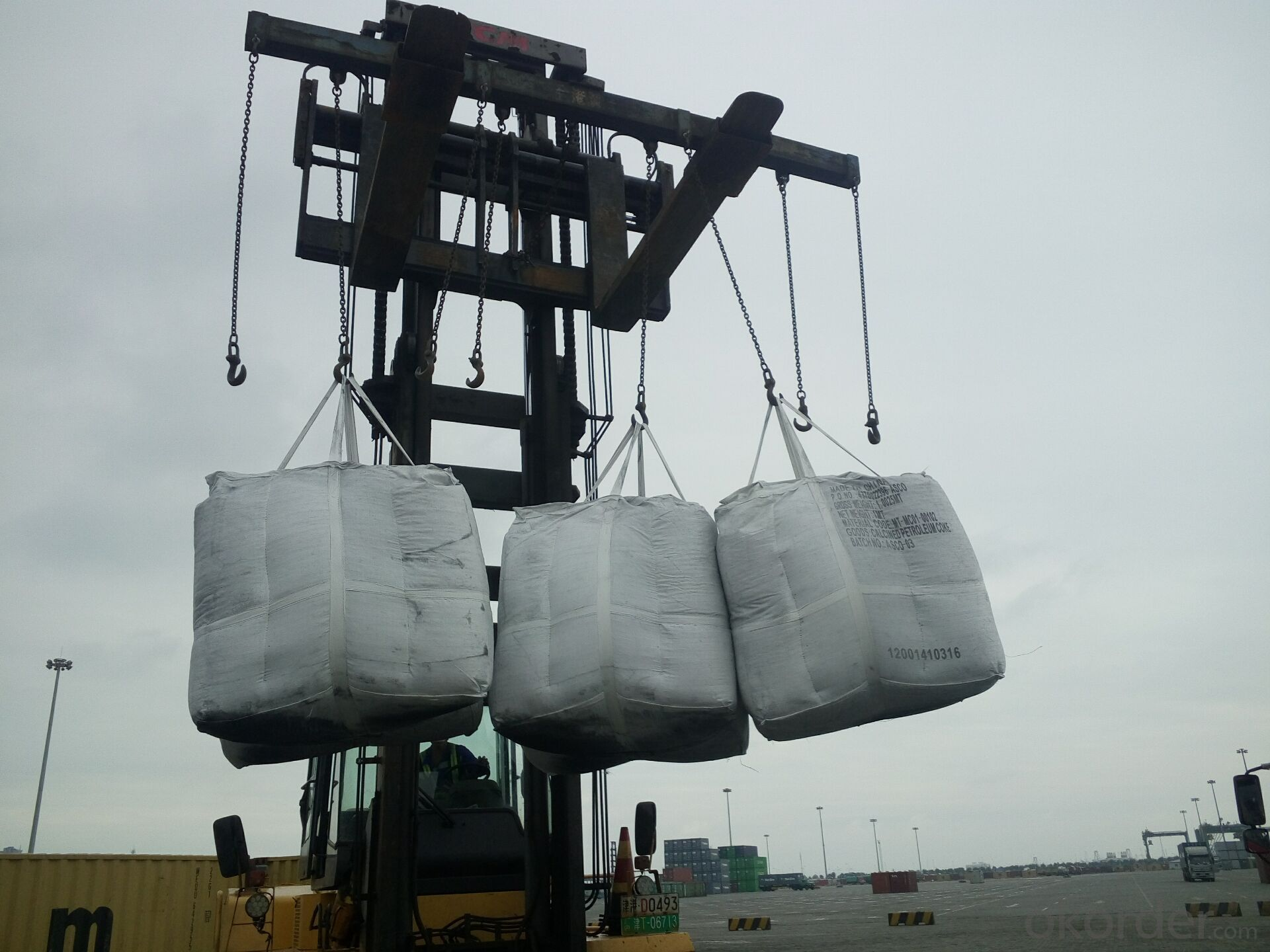 Calcined Pitch Coke with VM 0.5 percent max for Steel-making
