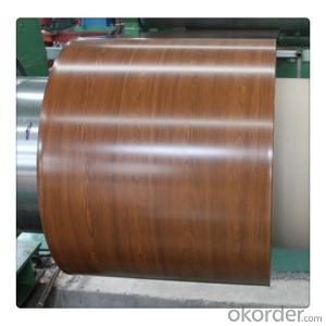 Wooden Grain Coating Aluminium Coil AA1100 for Decoration
