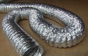 Aluminum Foil Ventilation Pipe Hose Highly Flexible