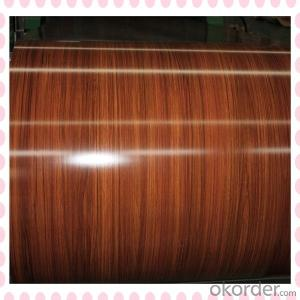 Wooden Grain Coating Aluminium Coil AA1100 for Decoration