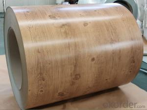 Wooden Grain Coating Aluminium Coil AA3003 for Roller Shutter Doors