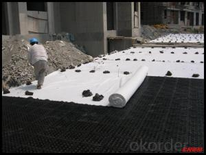 Polypropylene PP Nonwoven Fabric Geotextile for Road Construction