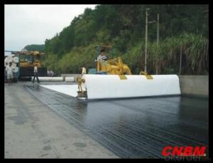 Short Nonwoven Geotextile for Road Construction in China