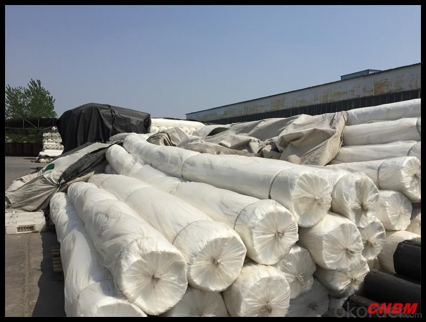 Non-woven Geotextile wIith 2-6 Meters Width Short Fiber