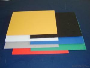 PVC Foam Board Specification 1mm - 20mm PVC Rigid Foam Board