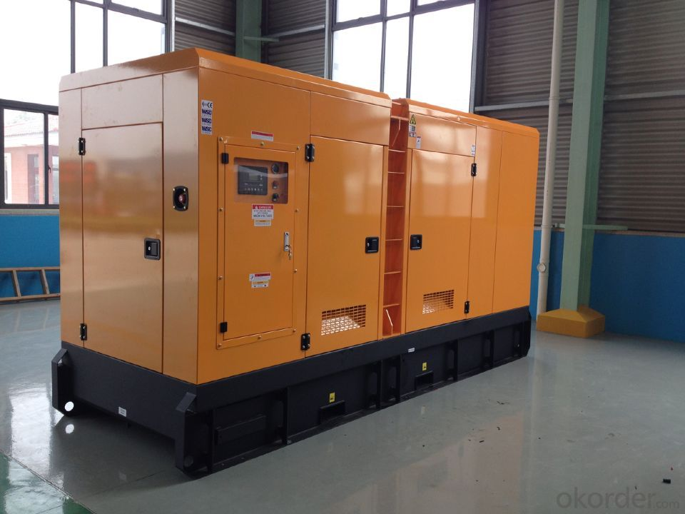 250kva/200kw  cummins soundproof  generator with enclosure (GDC250*S)