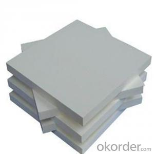 printing pvc celuka sheet/pvc foam core with die cutting