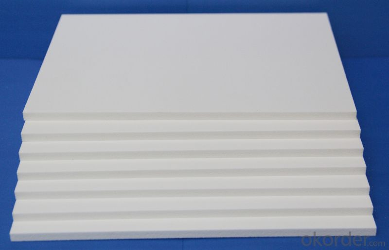 Light High Density Embossed Pvc Board Sheet raw material for pvc foam board