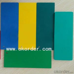 1mm - 20mm PVC Rigid Foam Board Heat Insulation High Density PVC Foam Board