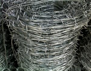 Iowa Pattern 2 Ply 4 Point Strand Wire PVC Coated Barbed Wire