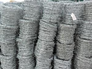 Hot Dipped Barbed Wire for Security In Factory Price