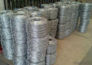 Electric/Hot Dippd Galvanized Barbed Wire China Manufacturer