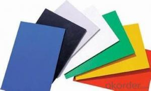 PVC Celuka Form Board PVC Free Foam sheet
