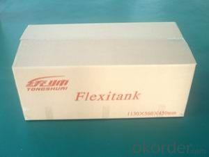biodiesel flexitank in 20 feet container