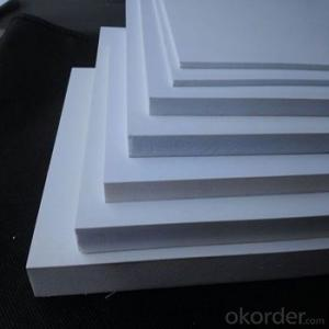 Thin black plastic board pvc foam sheet China