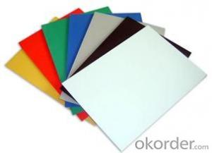 1mm - 20mm PVC Rigid Foam Board Water Absorption ≤1.0%