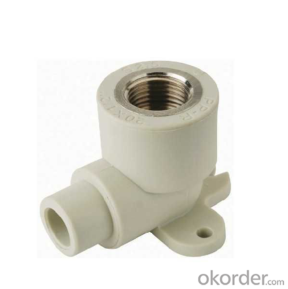 PP-R Elbow 90°for wall mounting external/internal female