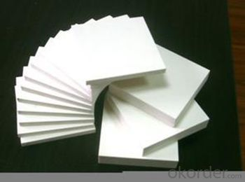 PVC  Foam Board/Sheet PVC Plastic Foan Sheet