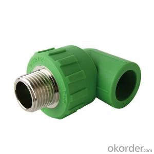 PPR Male  threaded  elbow with SPT Brand