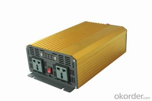 3000W Pure Sine Wave DC to AC Power Inverter with Charger