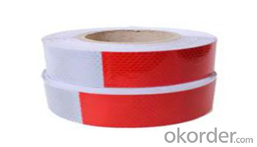 PVC Acrylic Reflective Tape for Truck Light Highway Safety