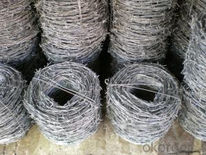 Double Twist Iowa Galvanzied Barbed Wire Bwg14X14, 16X16 Double Strand