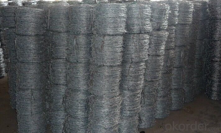 Galvanized Barbed Wire for Security In Good Quality