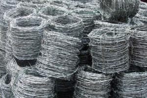 Galvanized Steel Barbed Wire Coil/4points Barbed Wire Strand