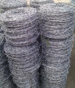 Galvanized Barbe Wire/Twist Barbed Wire Bwg14X14, 16X16 Double Strand