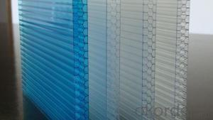 Colorful Polycabonate Hollow Sheet Series  ldm