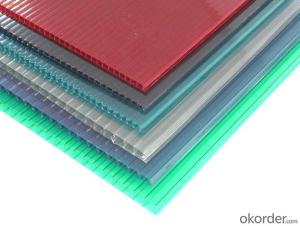 Colorful Polycabonate Hollow Sheet Series
