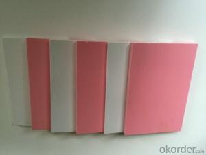 WHITE rigid celuka PVC foam board, PVC sheet, PVC printing material