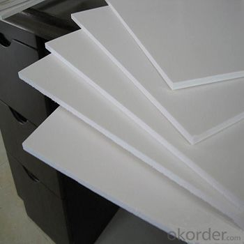 2016 High Density Plastic Foam 3mm Thick Sell Black/White PVC Foam Sheet