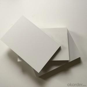 white celuka PVC foam board, PVC sheet rigid surface, PVCA cabinet board