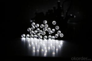 Solar Light String with 100 Lights17 Meters for Christmas and Party Decoration.