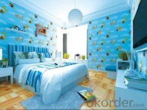 Chinese 3D PVC Wallpaper Natural Stone for children