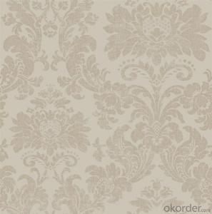 3D PVC Velvet Wallpaper Made In China With Good Quality