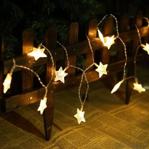 Sea Star 3AA Battery Operated Mini LED Light String with 20 Lights Lights for Decoration.