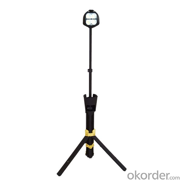 ABS plastic black for remote area light with tripod stand model 5JG-829-24W