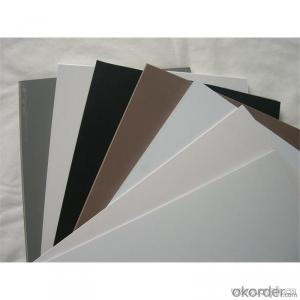 White cheap PVC foam Board 4x8 for india market 0.53 density PVC foam board