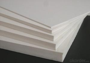 2016 High Density Plastic Foam 3mm Thick Sell White PVC Foam Sheet