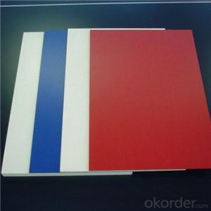 3-25mm density 0.47 eco-friendly forex board pvc foam board