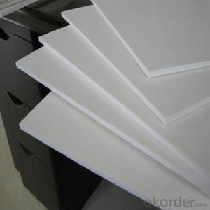 white/black  pvc rigid/plastwud pvc foam board