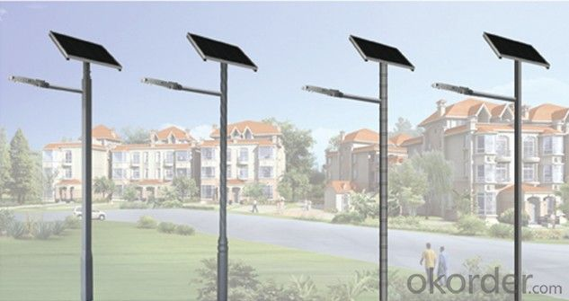 Solar LED Street Lamp AN-SLC-80W