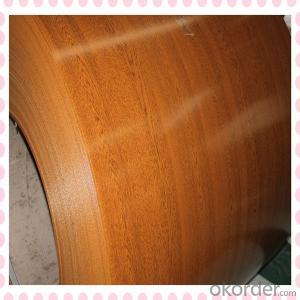 Wooden Grain Coating Aluminium Coils for Ceiling Tiles