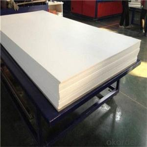 PVC Foam Sheet Fine White 4x8' 0.5mm Foam Sheet